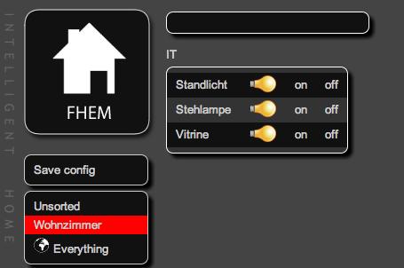FHEM Schalter