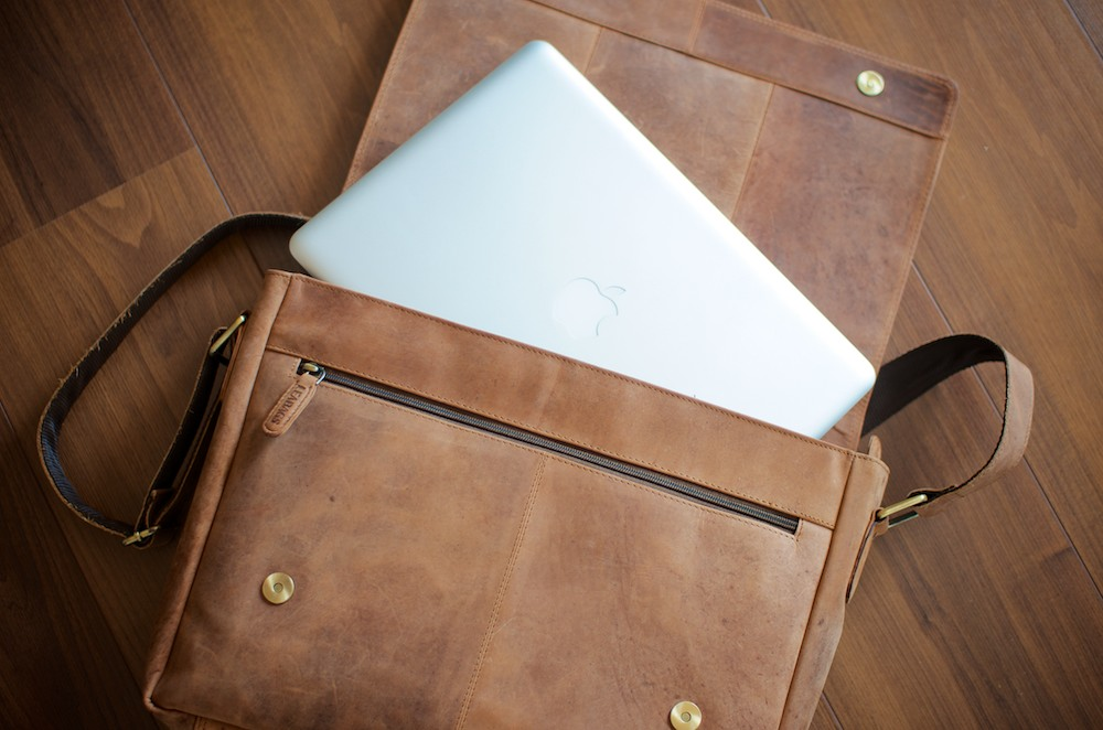 Leabags Messenger Bag MacBook
