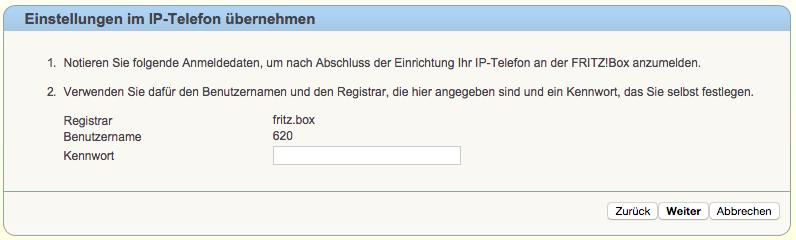 Fritzbox Telefon